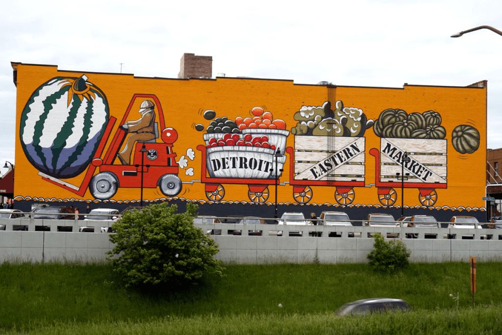 Detroit Eastern Market mural