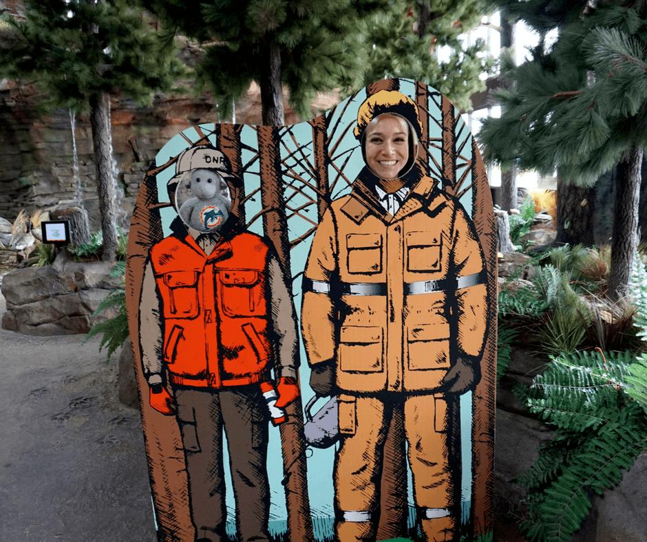 Inside Outdoor Adventure Center