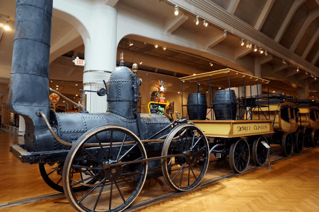 train inside Henry Ford museum