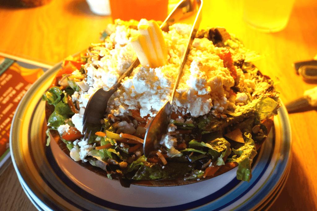 Satchel's salad