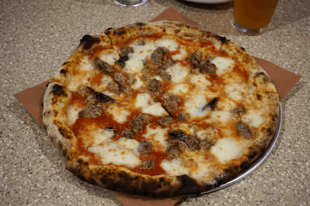 The Marge with meatballs