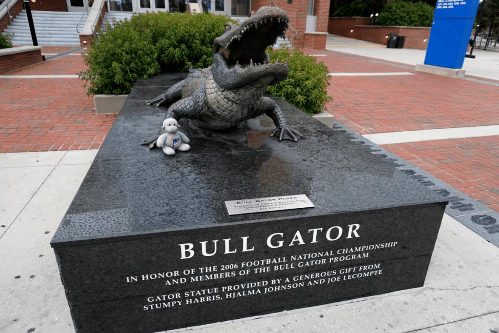 Bull Gator Plaza at University of Florida