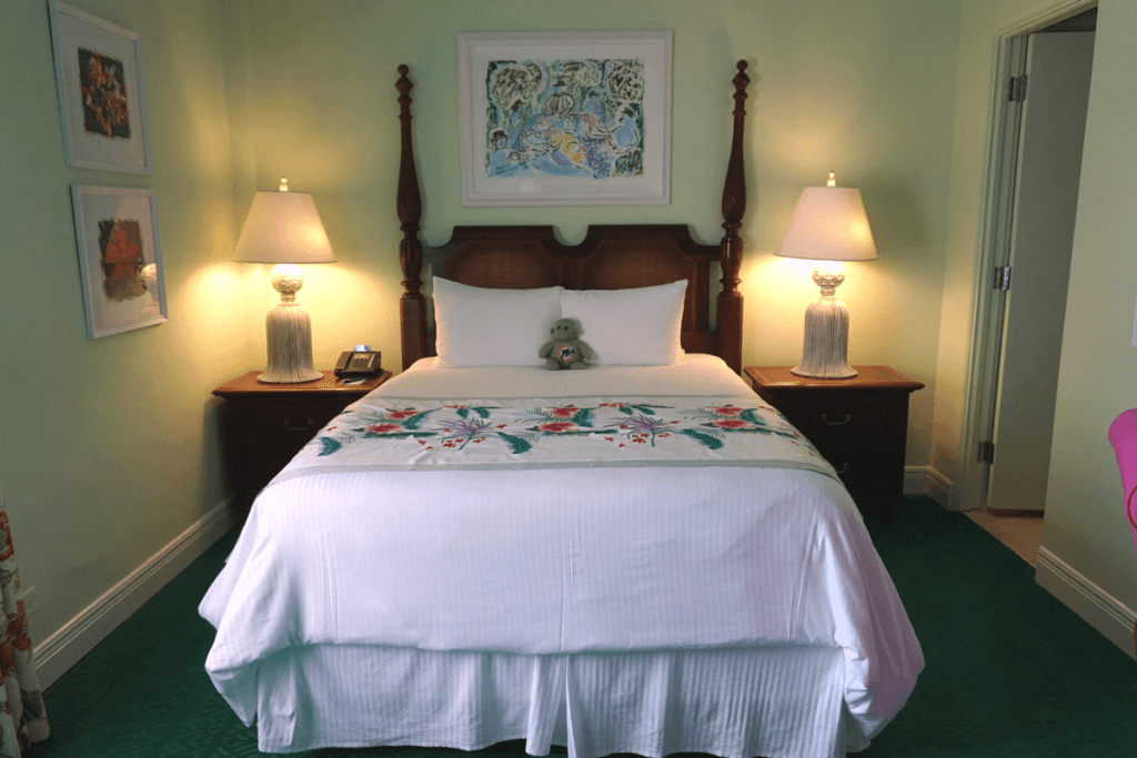 Bedroom of the Colony Hotel