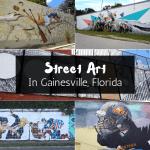 Street Art In Gainesville, Florida