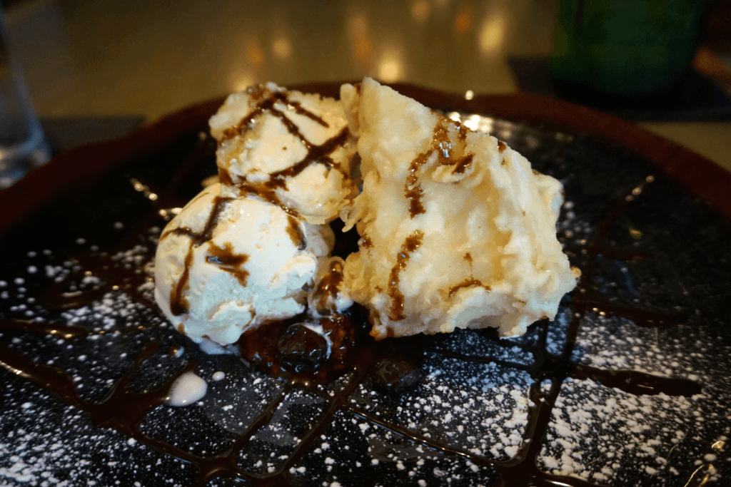 Tempura Fried Cheesecake in Gainesville