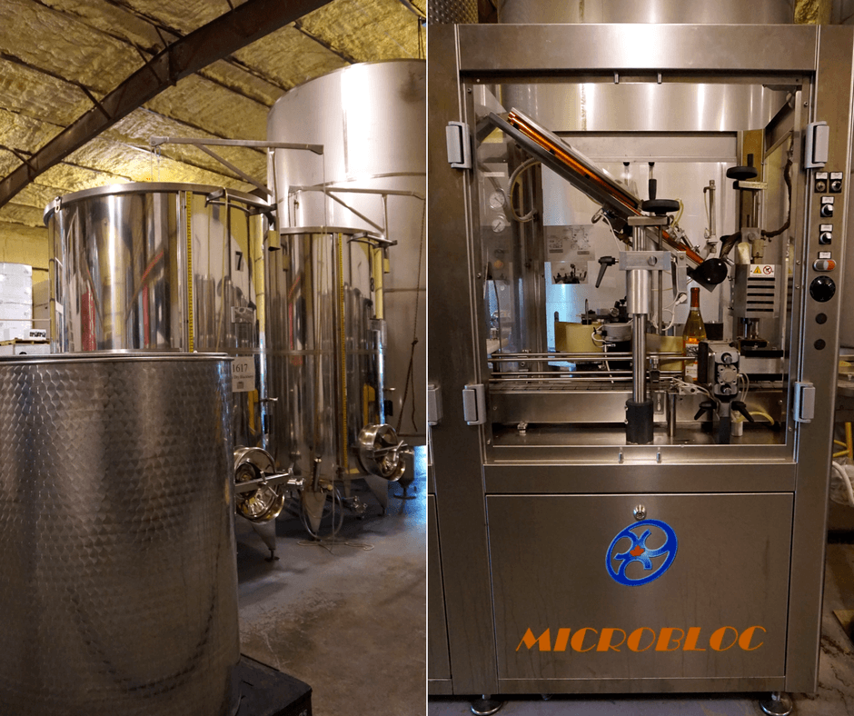 wine making facility