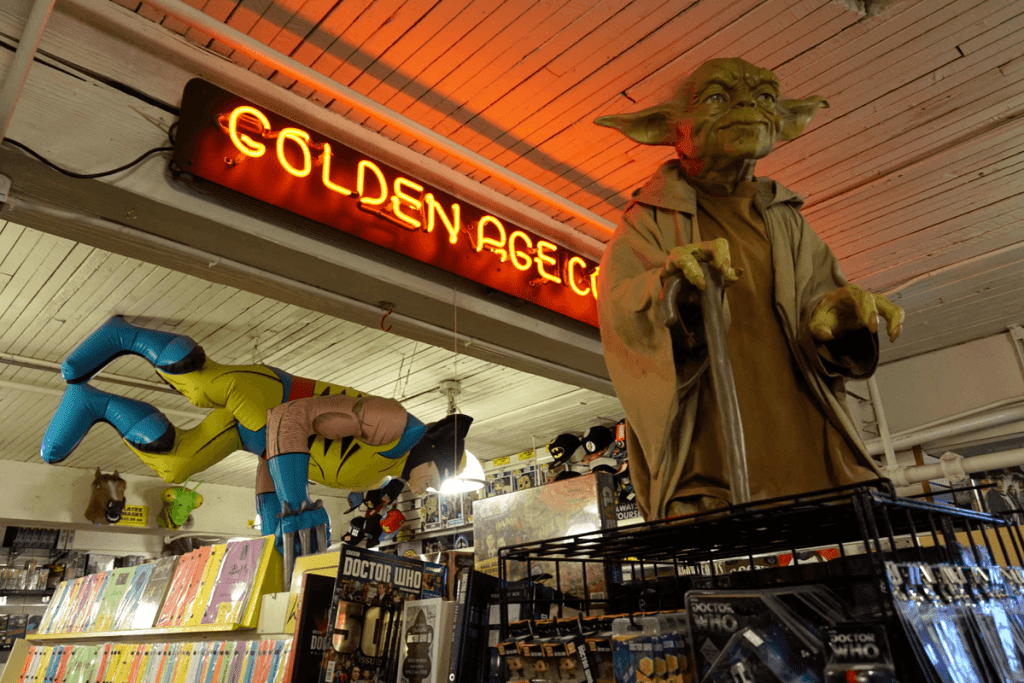 Golden Age Comics at Pike Place