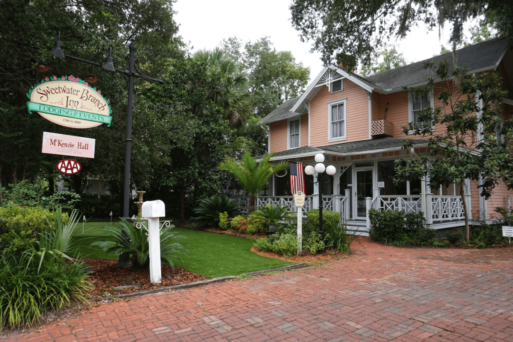 best place to stay in Gainesville, Florida Sweetwater Branch Inn