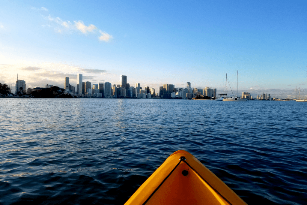 places to kayak in Miami