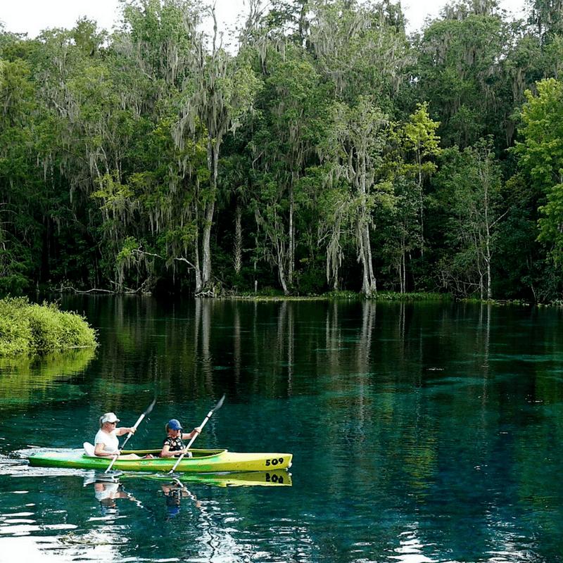 Kayaking in Central Florida