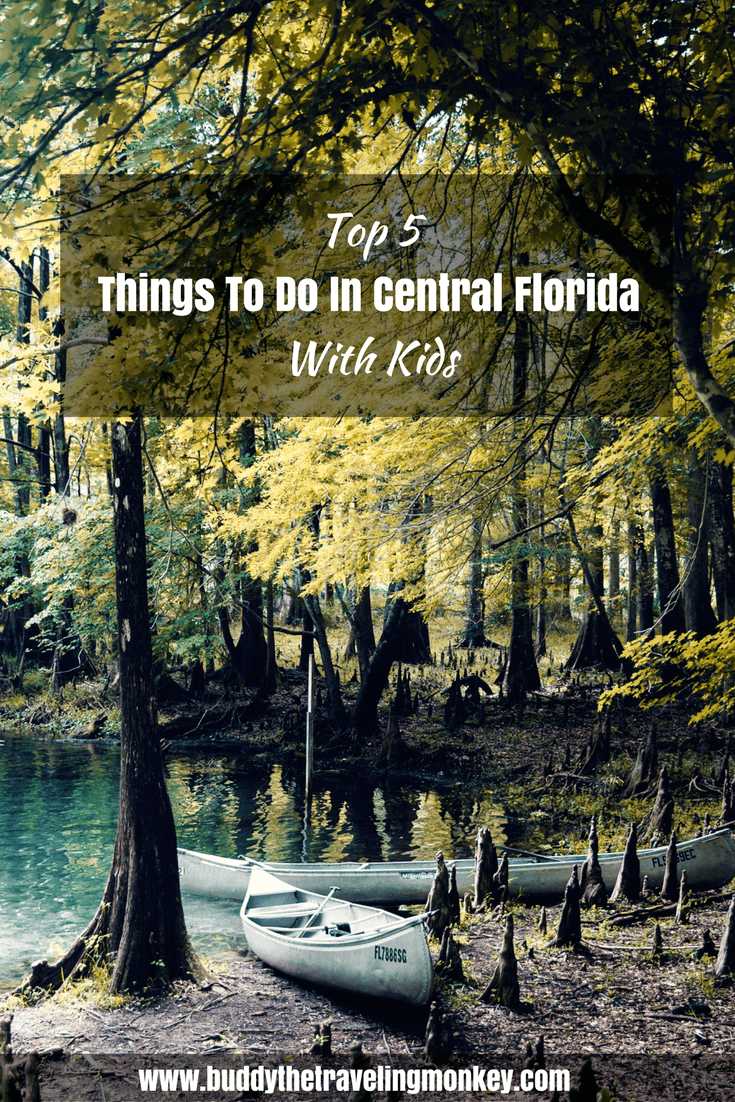 If you're looking for things to do in Central Florida with kids, there are a few options. We've listed our top five favorites, from theme parks to outdoor adventures.