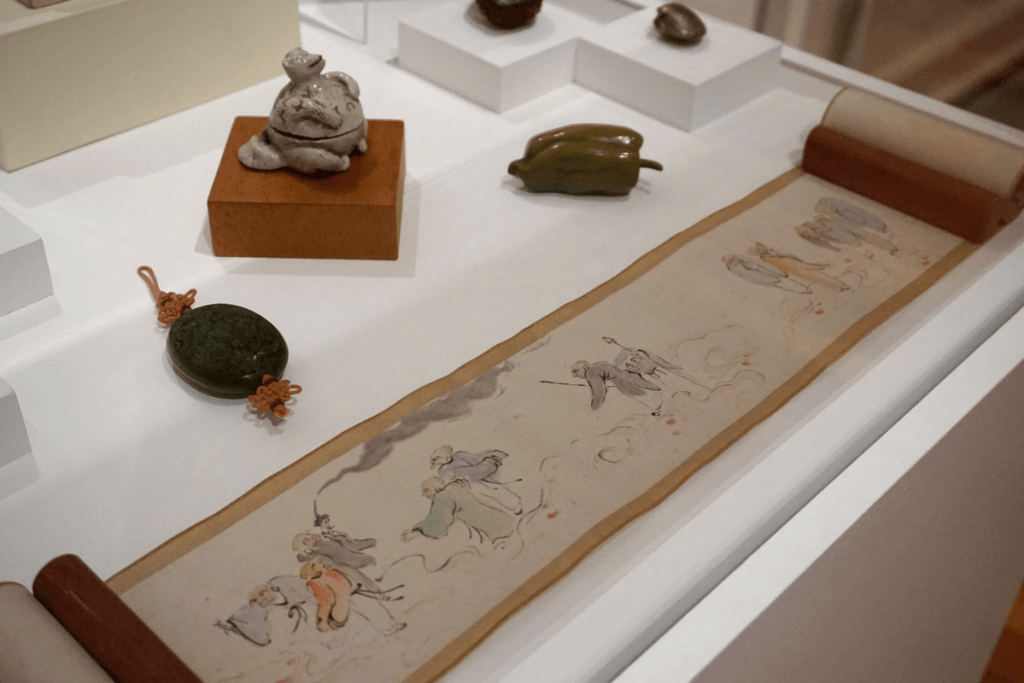 The Harn Museum has an extensive collection of Asian art