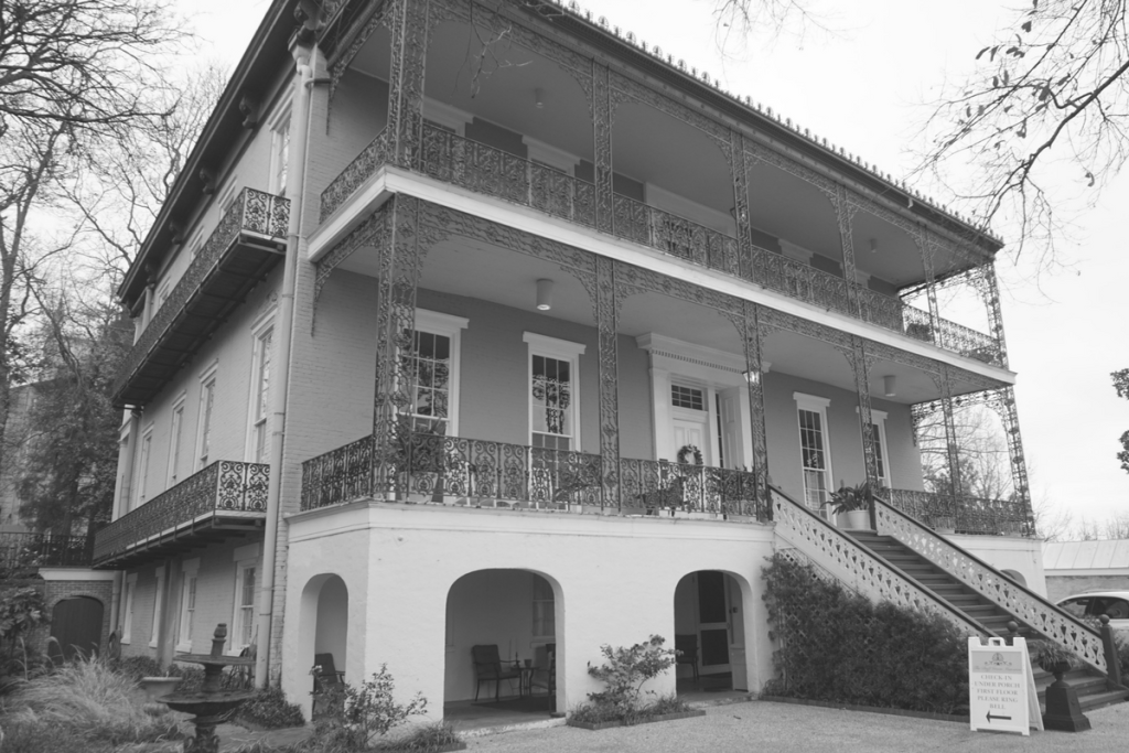 Duff Green Mansion is considered a haunted mansion in Vicksburg MS