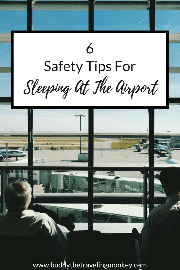 Sleeping at the airport may not be an ideal situation, but it doesn't have to be a horrible experience either. In this post, we have 6 safety tips to ensure you and your belongings are secure and comfortable.