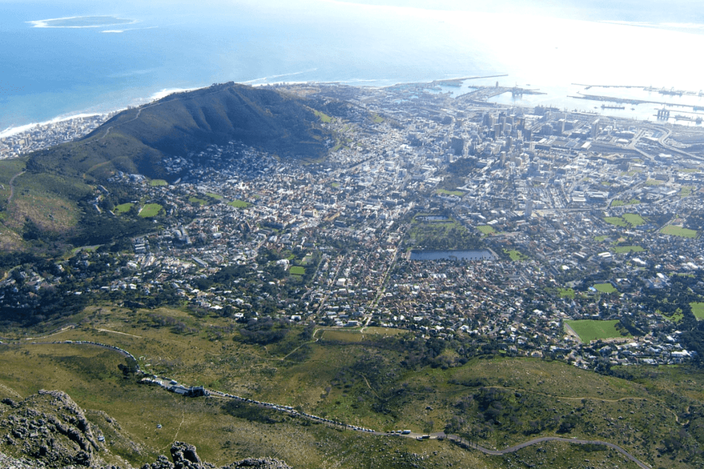 Great views from Table Mountain