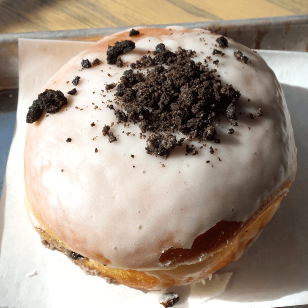 Oreo Stuffed doughnut from Doughnut Lounge