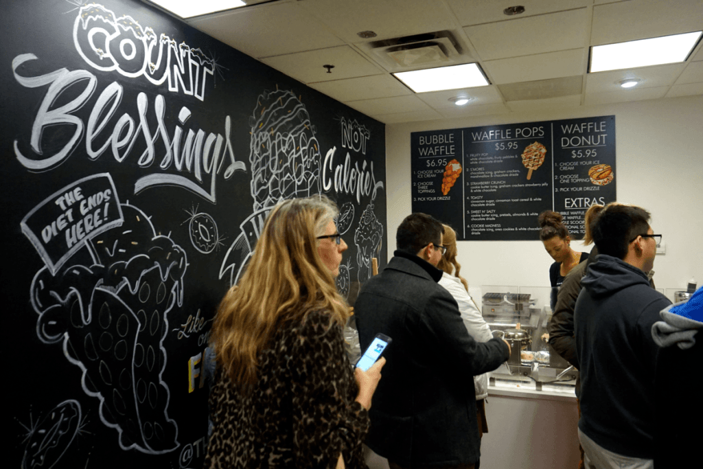 Best ice cream in Kansas City is at The Waffle Bar