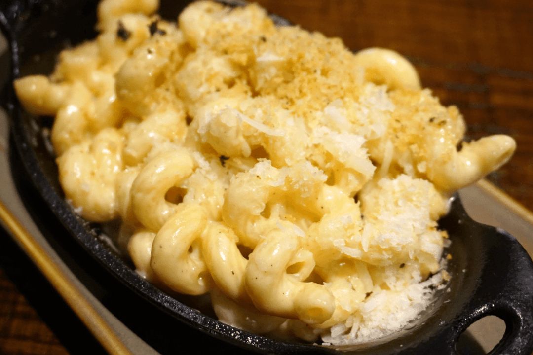 Macaroni and cheese at Q39