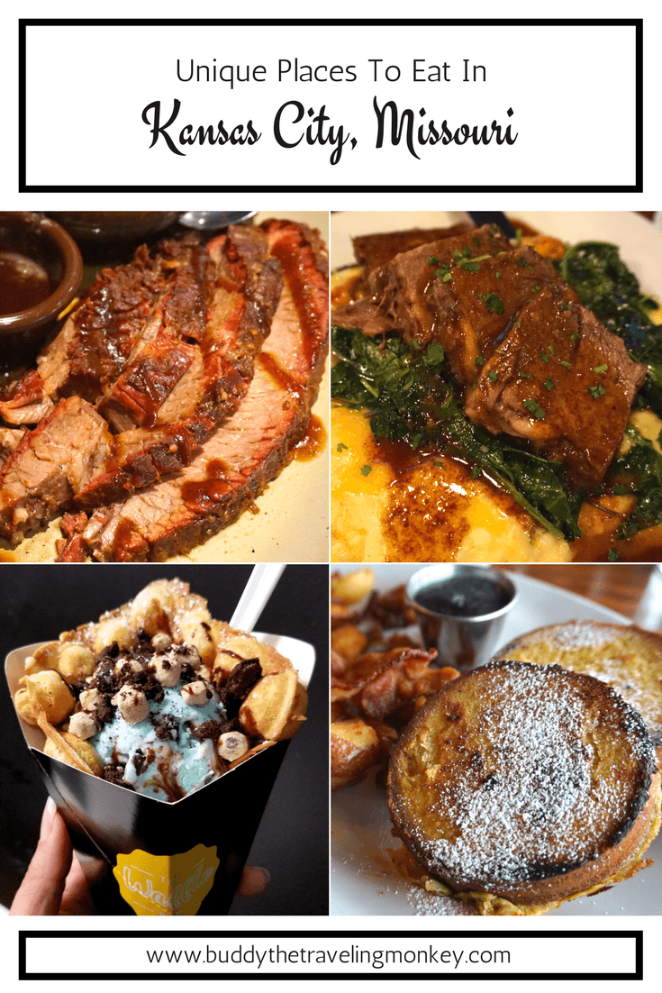 We were amazed with the amount of unique places to eat in Kansas City, Missouri! Yes, there's great barbecue. But there's also SO much more!! In this post, we highlight the yummiest and most fun restaurants in Kansas City.