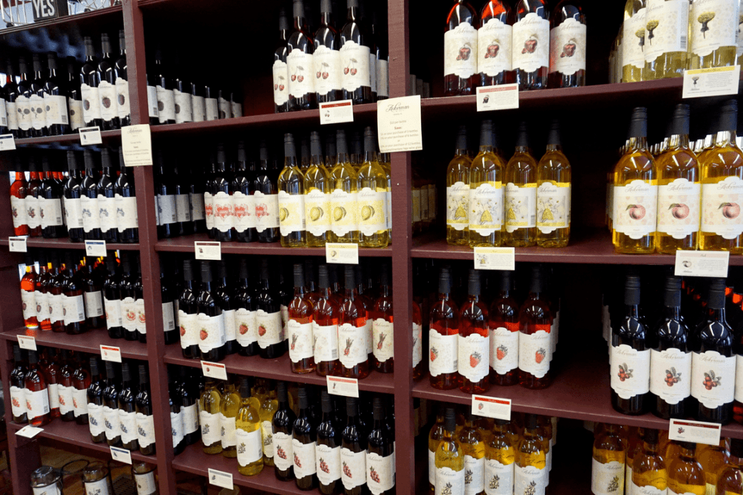 Of all the Iowa wineries, Ackerman is the oldest