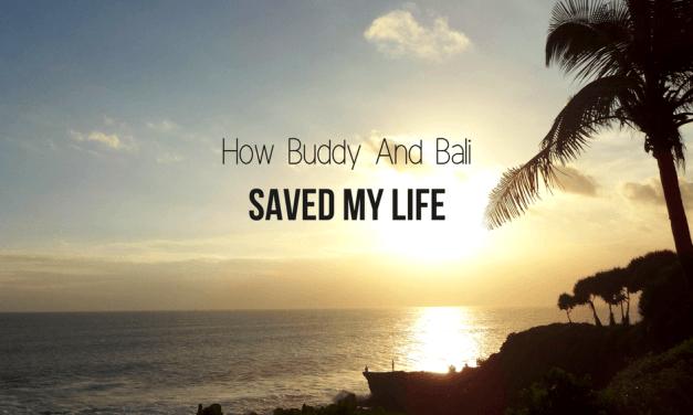 How Buddy And Bali Saved My Life