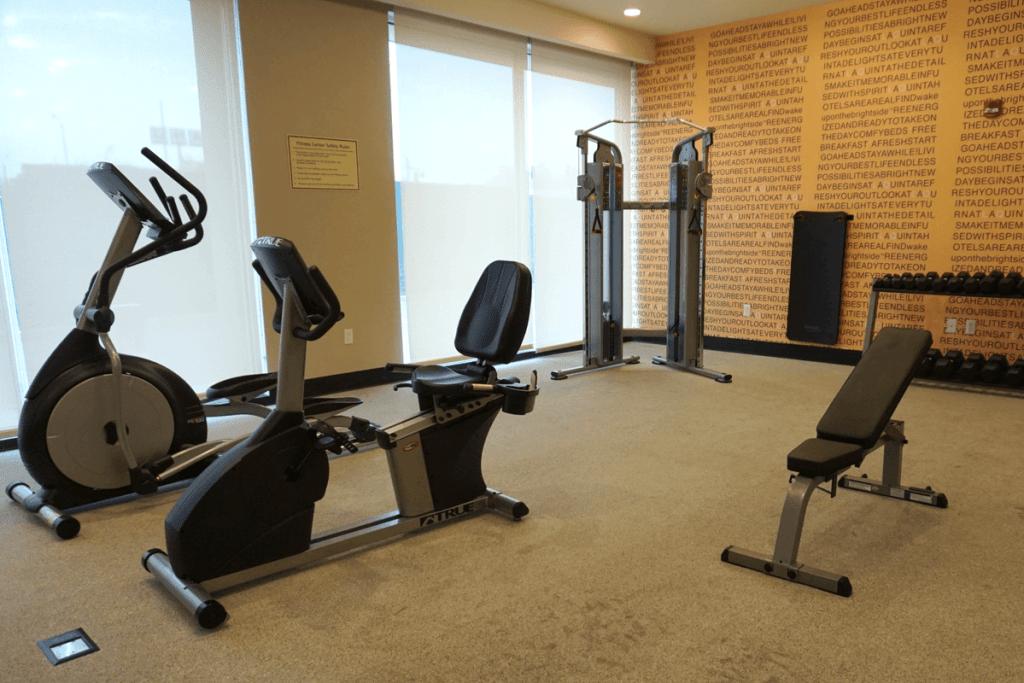 Fitness Center at La Quinta Inn Memphis tn