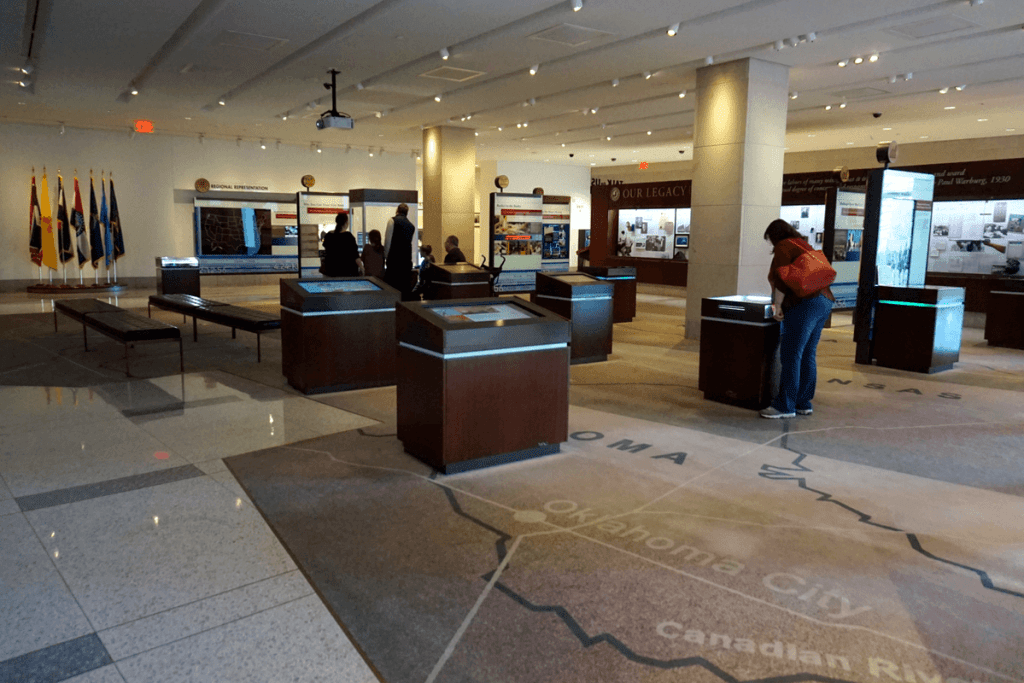 The Money Museum is one the the free things to do in Kansas City