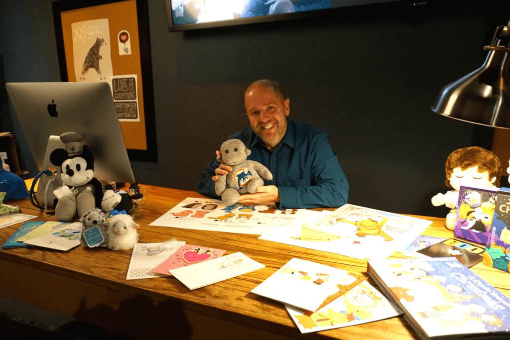 Meeting a Hallmark Master Artist
