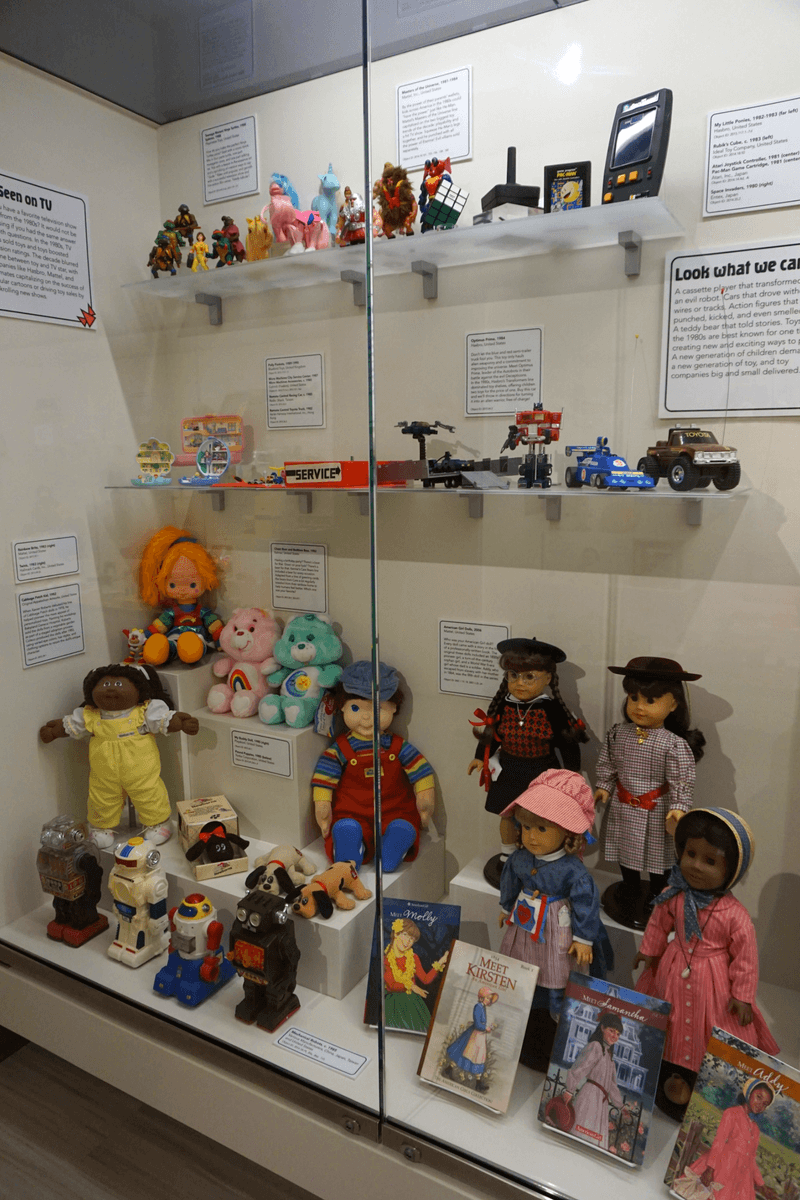 The National Museum of Toys and Miniatures is one of the top Kansas City tourist attractions because of their large collection of toys and miniatures