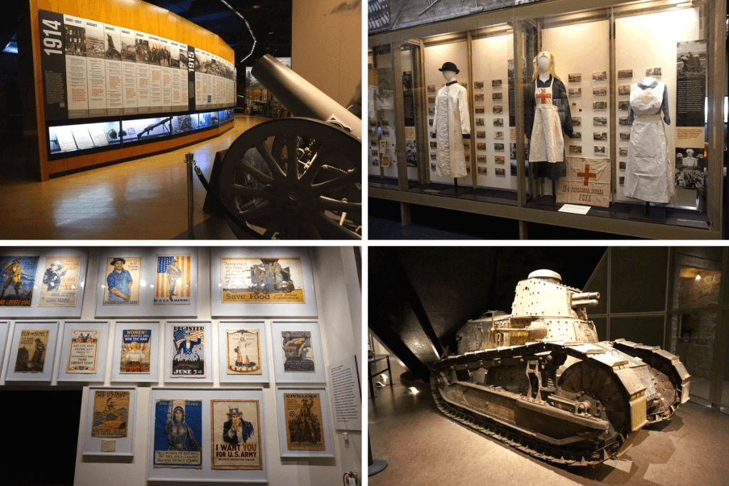 You could spend hours in the National World War I Museum!