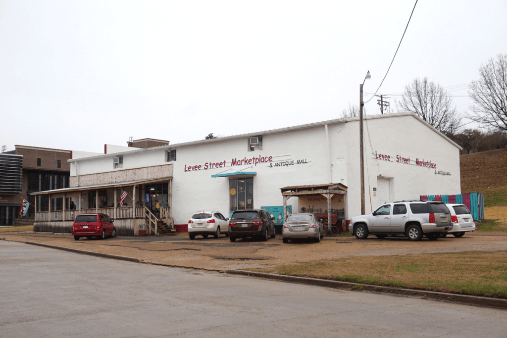 Vicksburg attractions include the Levee Street Marketplace