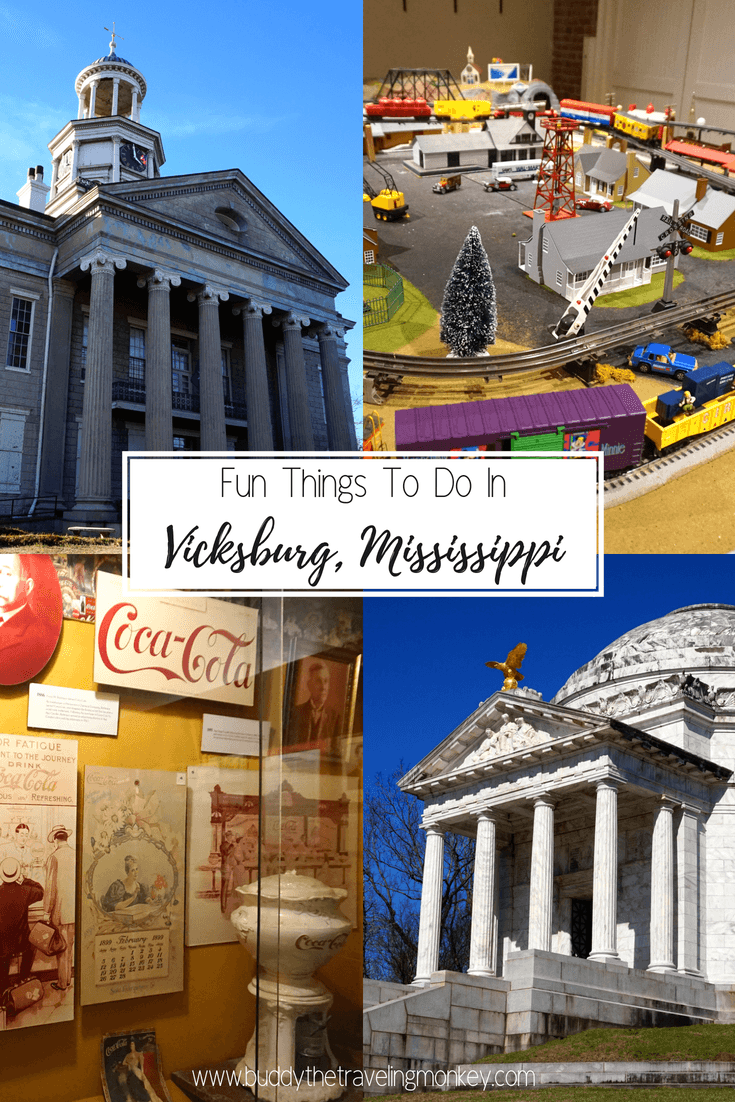 There are so many fun things to do in Vicksburg, Mississippi! From historic battle grounds to world class casinos and restaurants, this city has something for everyone!