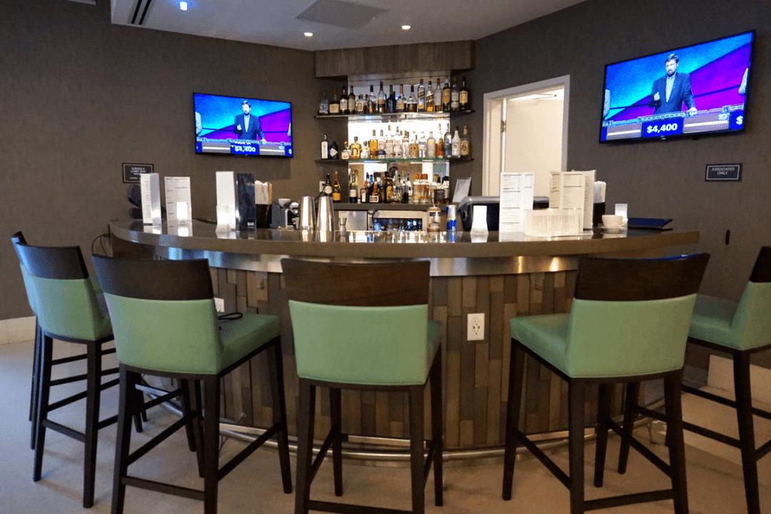 First floor bar at the Residence Inn Miami Beach Surfside