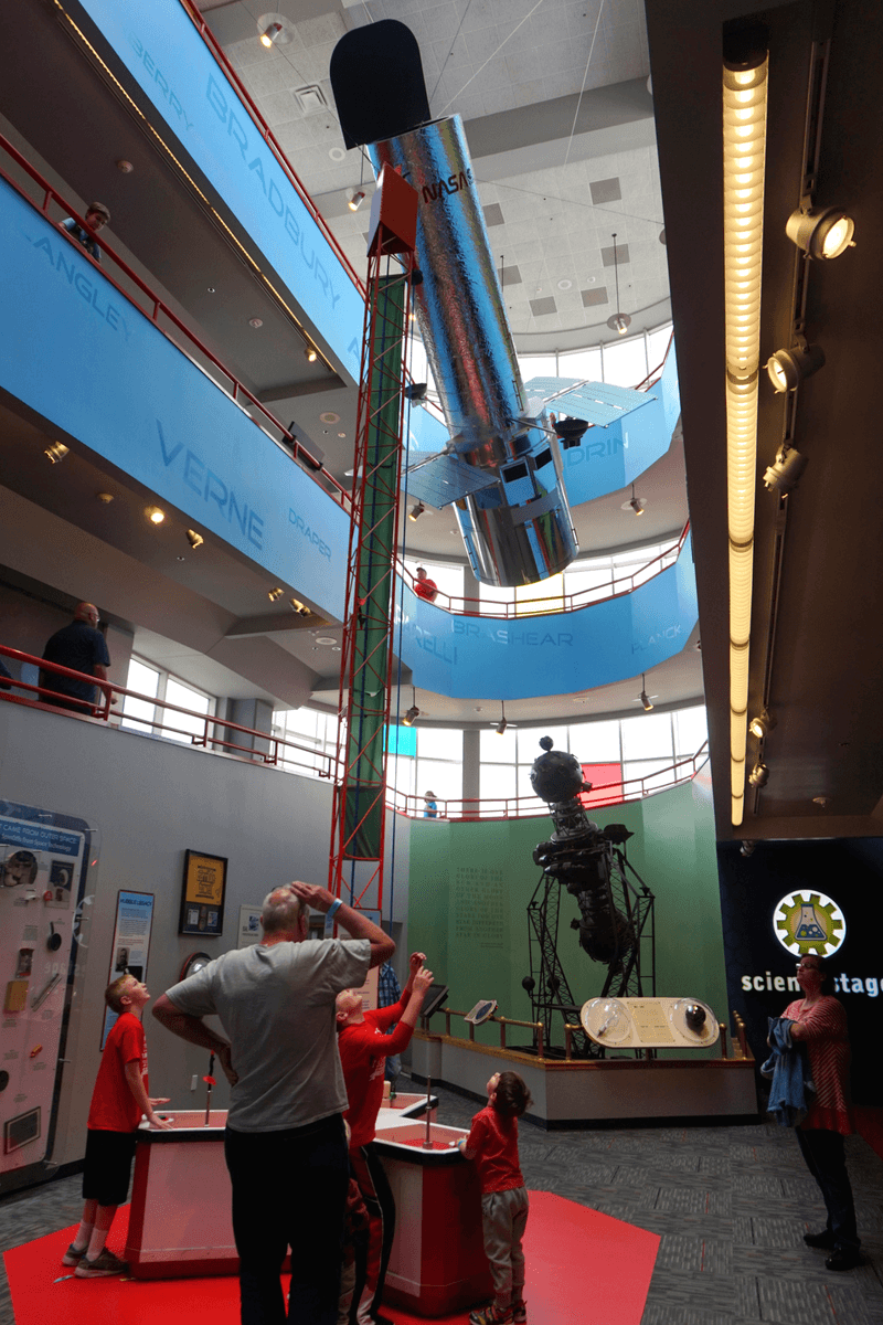 The Carnegie Science Center is one of the fun things to do with kids in Pittsburgh