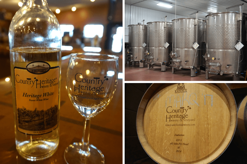Country Heritage Winery is one of the to things to do in Fort Wayne for adults