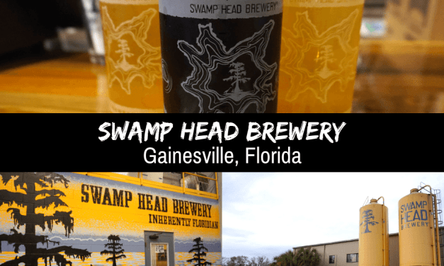 Swamp Head Brewery In Gainesville, Florida