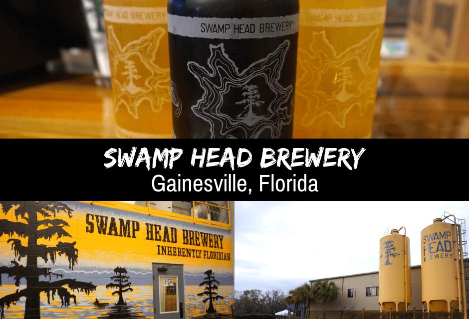Swamp Head Brewery In Gainesville, Florida