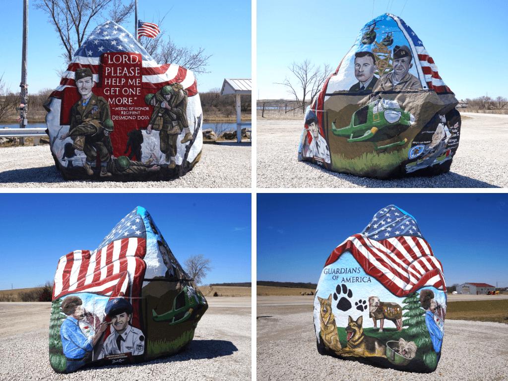The Freedom Rock in Menlo, Iowa