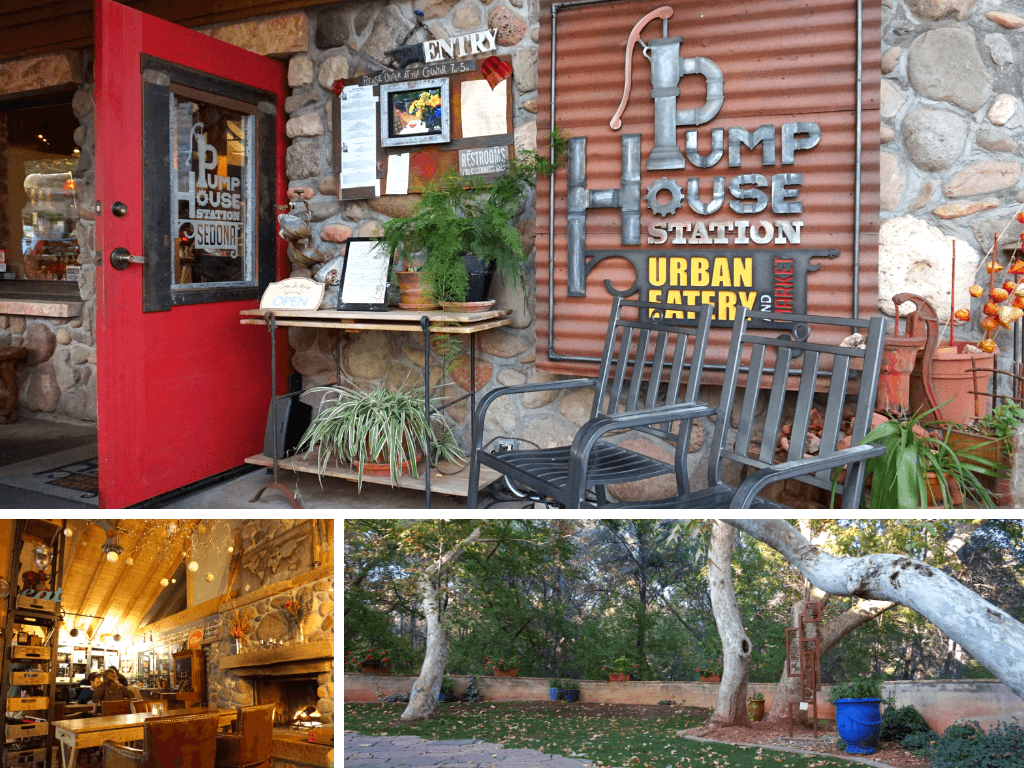 Pump House Station is one of the best Sedona restaurants