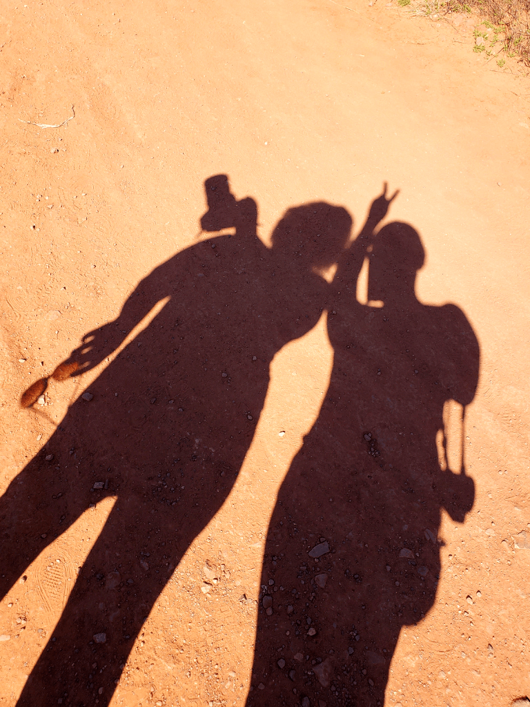 Being silly on our Sedona weekend getaway