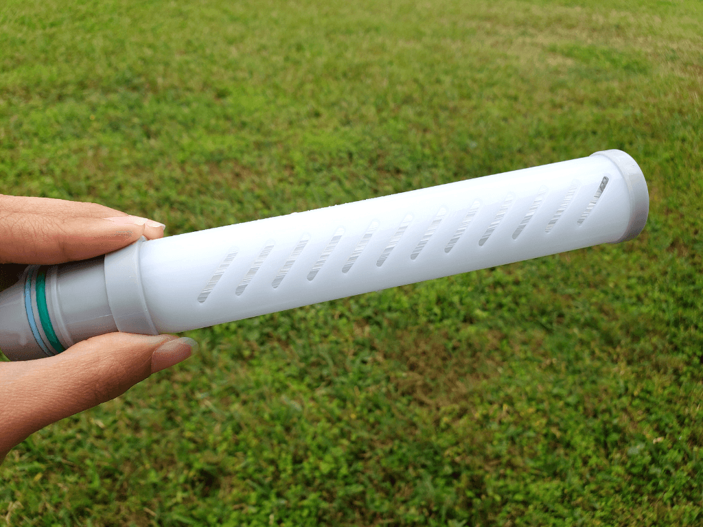 Inside the tube is the microfiltration membrane that filters out bacteria - LifeStraw Review