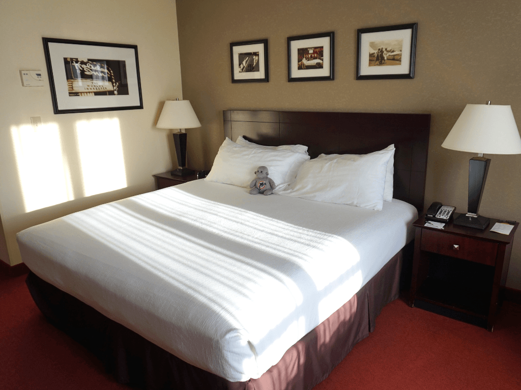 Perfect room at the Holiday Inn & Suites West Des Moines-Jordan Creek