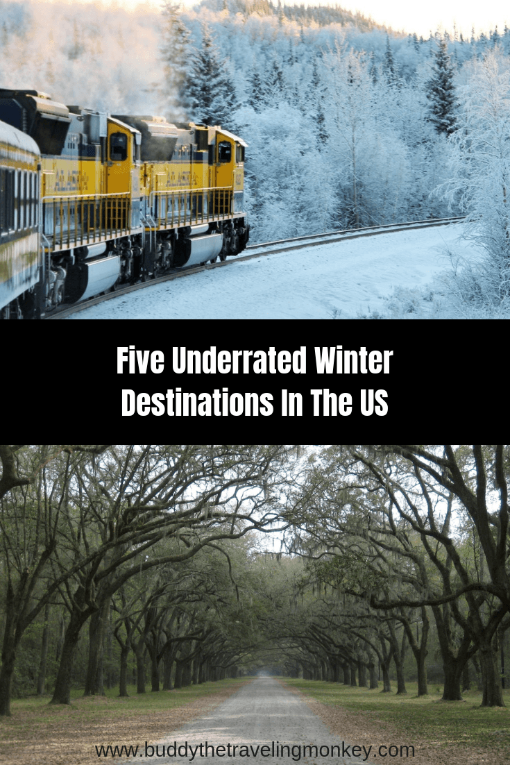 Trying to get away from the holiday crowds? Check out these five underrated, but fun, winter destinations in the US.