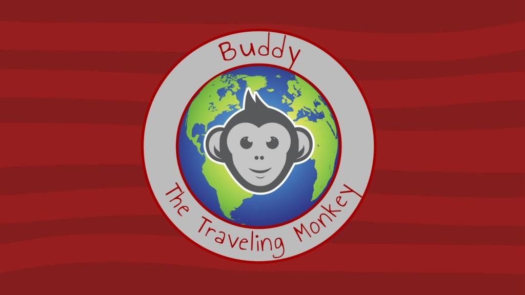 Buddy The Traveling Monkey Logo