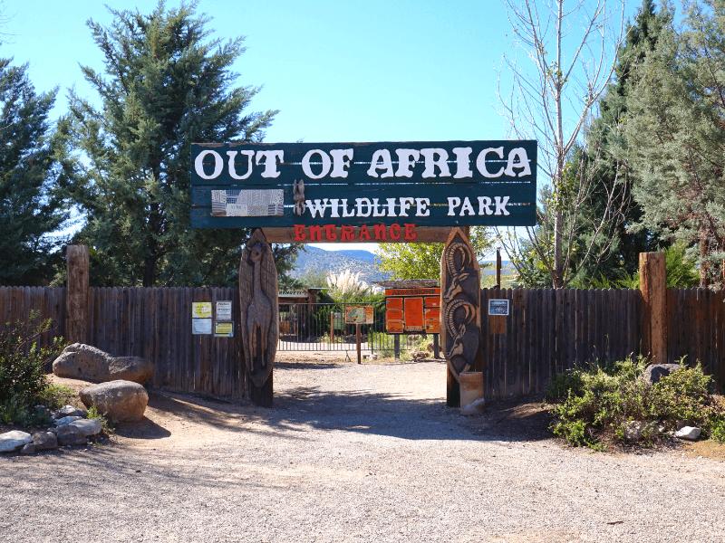 Arizona Wildlife Park Out of Africa
