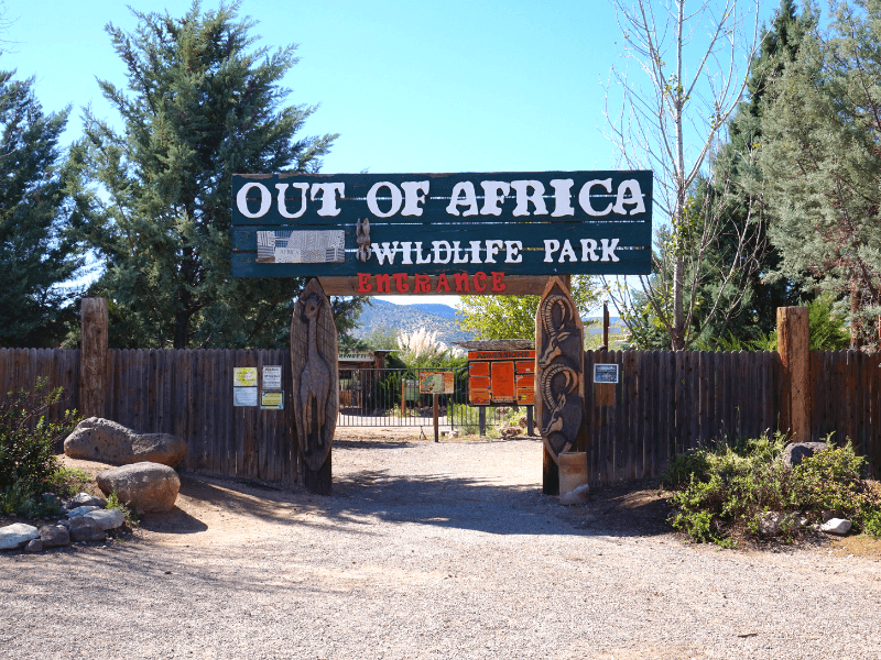 Arizona Wildlife Park Out of Africa