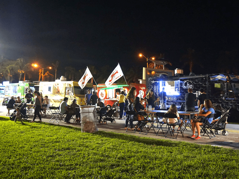 Food Truck Tuesday at Haulover Park
