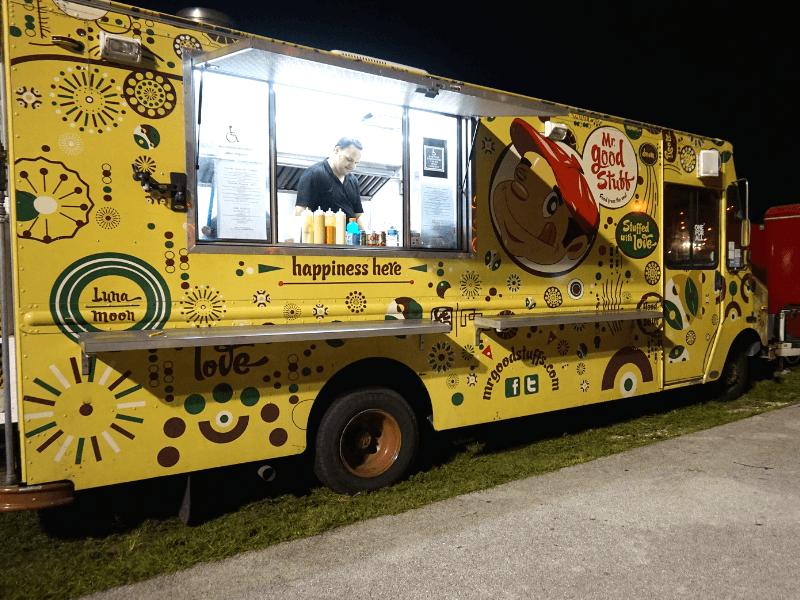Mr. Good Stuff food truck at Haulover Park
