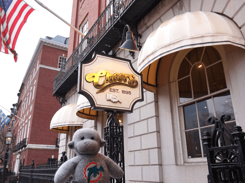 Cheers bar in Boston, Where everybody knows your name!!