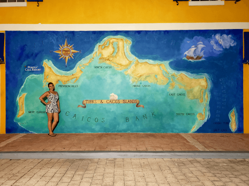 Mural of Providenciales, Turks and Caicos